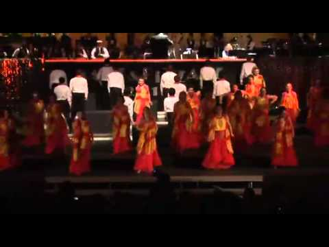 Chantilly High School Touch of Class Salute to Bollywood Travel Video