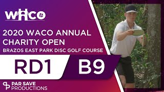 Waco Annual Charity Open 2020 - Round 1 of 2 | Back 9 - Keith, Mäkelä, Perkins, Collins