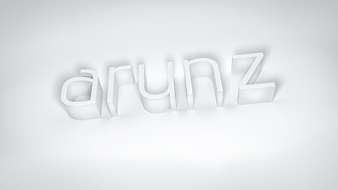 How to make white 3d text photoshop cc tutorial youtube how to make white 3d text photoshop cc tutorial baditri Gallery