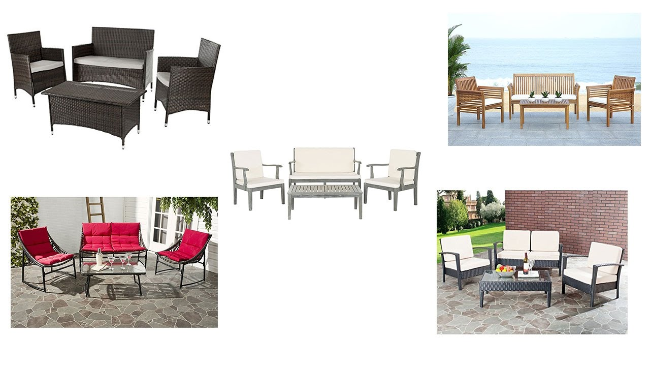 Top 5 Best Patio Furniture Sets Reviews