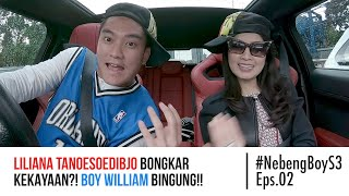 Liliana Tanoesoedibjo BONGKAR kekayaan?! Boy William bingung! - #NebengBoy S3 Eps. 02