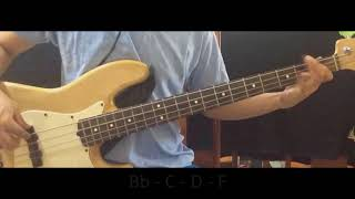 Lost Without You by Victory Worship (Bass Guide w/CHORDS)