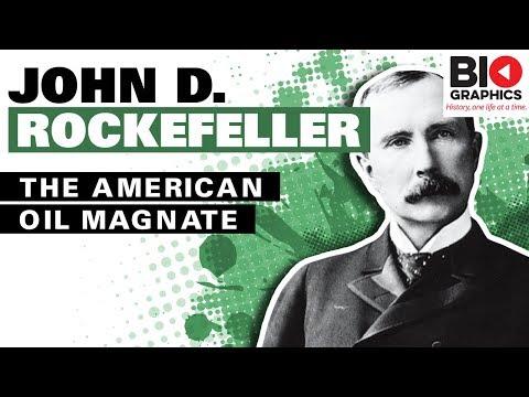 John D. Rockefeller: The American Oil Magnate