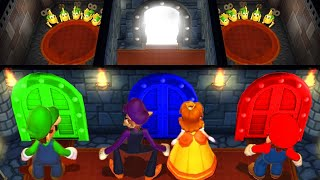 Mario Party 9 MiniGames Luigi Vs Daisy Vs Mario Vs Waluigi (Master Difficulty)