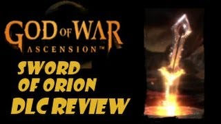 God Of War Ascension DLC Review: Sword Of Orion ~ $2.99 ~