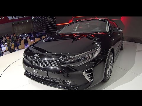 Kia K5 2016 2017 Sedan Video Interior Exterior Optima You