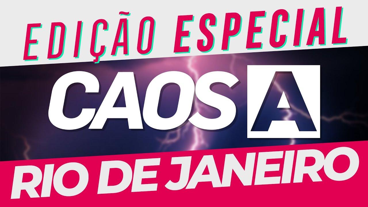 É MUITO DESESPERO PRA 3 HORAS DE LIVE | #CaosCarioca EDIÇÃO ESPECIAL