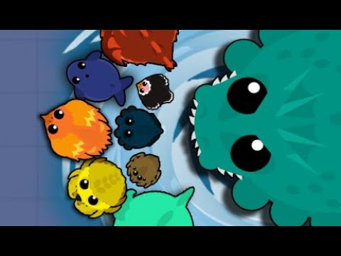 Mope Io New Sea Monster Epic Kills морской монстр