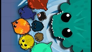 Mope.io New SEA MONSTER - EPIC KILLS!!! МОРСКОЙ МОНСТР - Крутое животное!