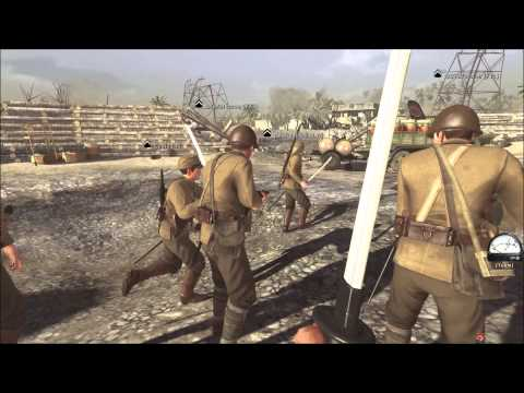 Red Orchestra 2:Rising Storm 10+ Man BANZAI CHARGE! Multiplayer.