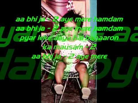 aa bhi ja mere humdum.wmv