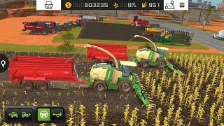 Fs18 farming simulatör 2018 / silaj ve biyogaz gübre - silage and biogas fertilizer / # 250 HD /