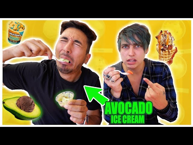 EATING All The WEIRD ICE CREAM Flavors with Colby Brock (TASTE TEST)