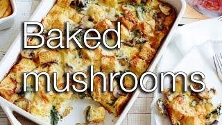 Baked Mushrooms #recipes Smartkok