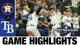 Charlie Morton, 4 Rays homers power Tampa to Game 3 win | Astros-Rays ALDS Game 3 Highlights