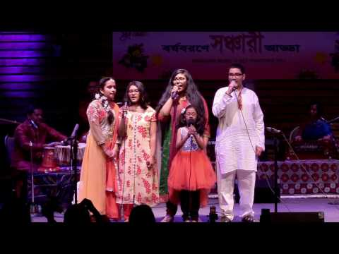 Sanchari Musical Evening 2017 - Abar Jombe Mela