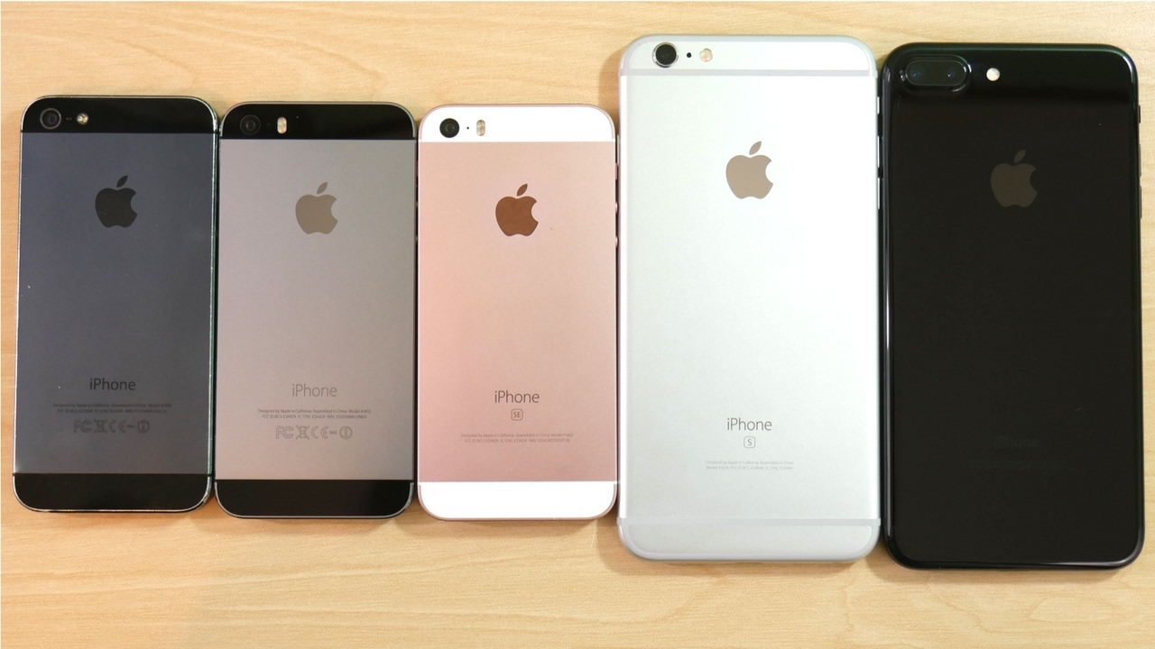 iphone 5s plus iphone 5 vs iphone 5s vs iphone se vs iphone 6s plus vs 11228