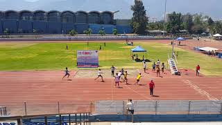 Confra Chile 2018 Posta 4x400mtrs Caballeros