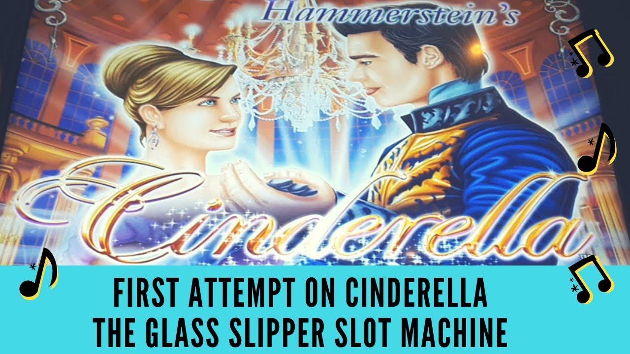 Cinderella Glass Slipper Slot Machine