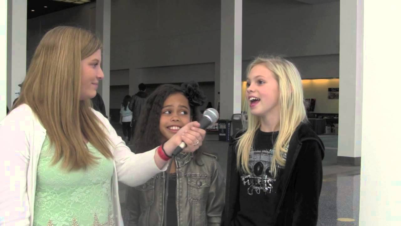 Asia Monet Ray and Jordyn Jones from Abby's Ultimate Interview at World of Dance LA