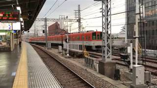 ◆尼崎車庫から出る車輌 阪神電車 尼崎駅◆