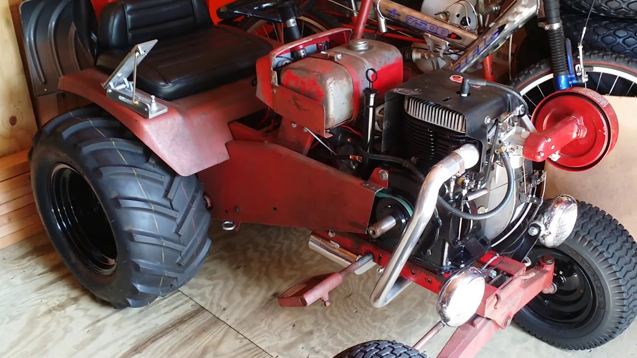 """1967 Wheel Horse 857 """"Lil Mule"""" Tractor Part 21 Foot ..."""