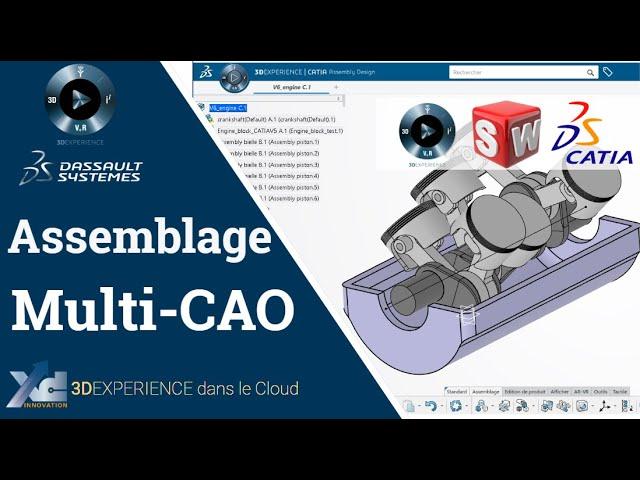 3DEXPERIENCE ® - Assemblage multi-CAO dans CATIA 3DEXPERIENCE