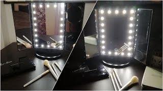 Настольное зеркало с увеличением и подсветкой с Aliexpress | Hailicare | ОБЗОР