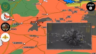 29 августа 2017. Военная обстановка в Сирии. Правительственные силы зачищают котел с ИГИЛ.