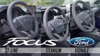2019 Ford Focus Interior | ST-Line / Titanium / Vignale