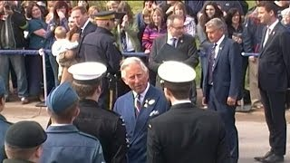 Prince Charles in Pictou, Nova Scotia