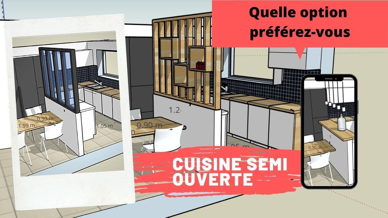 Download Cuisine semi ouverte semi fermée quelle option préférez ...