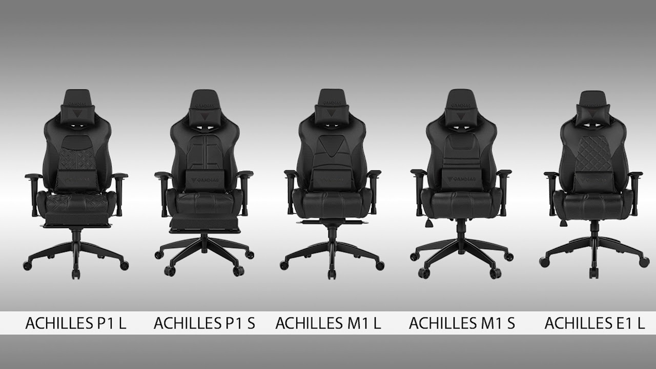 Gamdias Achilles Gaming Chairs Comparison P1 M1 And E1