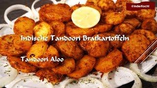 Indische Tandoori Bratkartoffeln aus dem Ofen/ Tandoori Aloo - InderKocht Folge 24