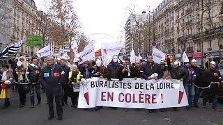 مظاهرات لأعراف المؤسسات في فرنسا