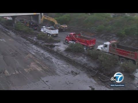 Amtrak accommodates Santa Barbara travelers amid mudslide cleanup I ABC7