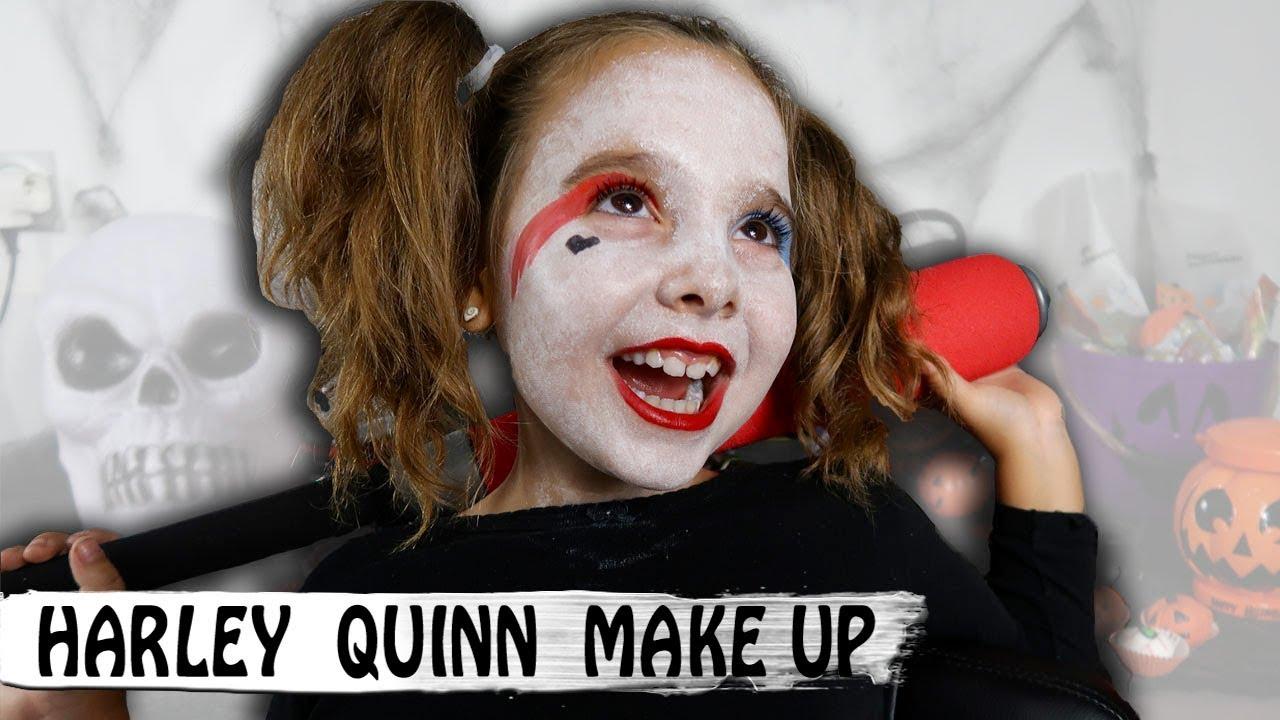HALLOWEEN MAKEUP  Harley Quinn