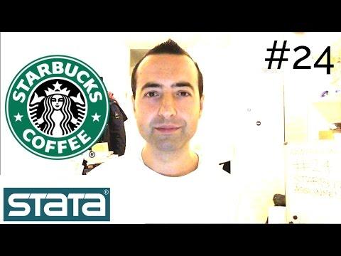 #24 Stata Beginners Course   Very Powerful!   Vrije Universiteit Amsterdam   Starbucks Assignment