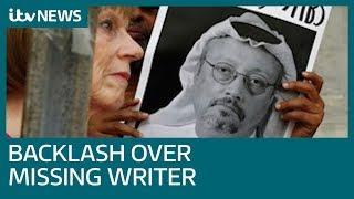 Businesses halt ties with Saudis amid journalist Jamal Khashoggi murder claims | ITV News