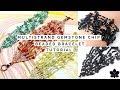 Gemstone Chip | Brick Stitch | Multi-Strand Seed Bead | Beaded Bracelet Tutorial
