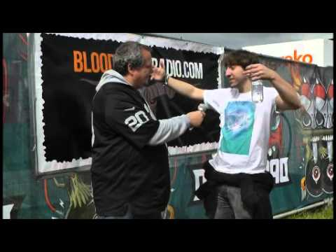 Mike Malyan (The Algorithm) interview with Catbird (Bloodstock Radio) @Download 2013