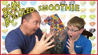 Bean Boozled Smoothie : Dog Food, Barf, Rotten Egg, Booger, Mold, Skunk Spray Challenge