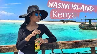 THE BEAUTIFUL BEACH OF WASINI ISLAND | KENYA