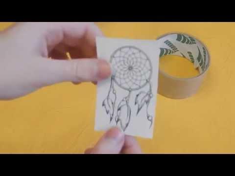 Смотреть онлайн Как сделать самодельную наклейку своими руками и в домашних условиях? Очень простой способ.