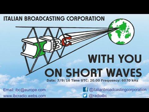 Italian Broadcasting Corporation IBC Radio 11580 kHz 12/23 0100 UTC Grundig Satellit 800 Millennium