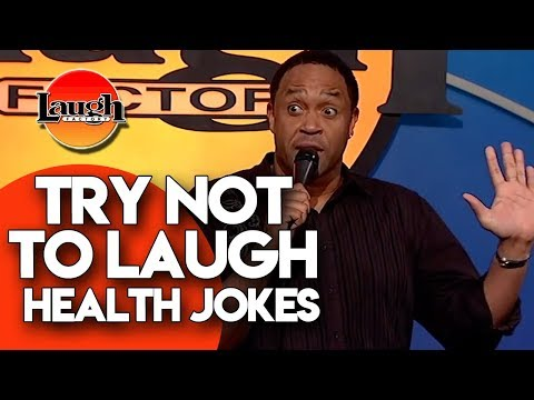Try Not to Laugh | Health Jokes | Laugh Factory Stand Up Comedy