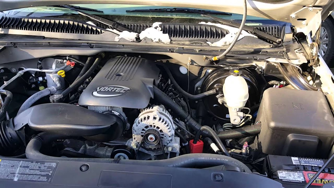 2005 Chevrolet Silverado Engine Bay Video M11964  Youtube