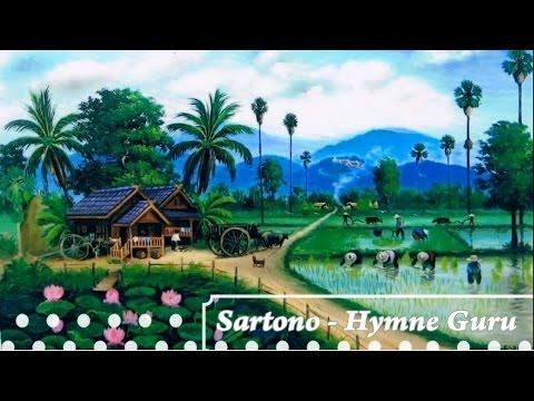 [Midi Karaoke] ♬ Sartono - Hymne Guru ♬ +Lirik Lagu [High Quality   Sound]