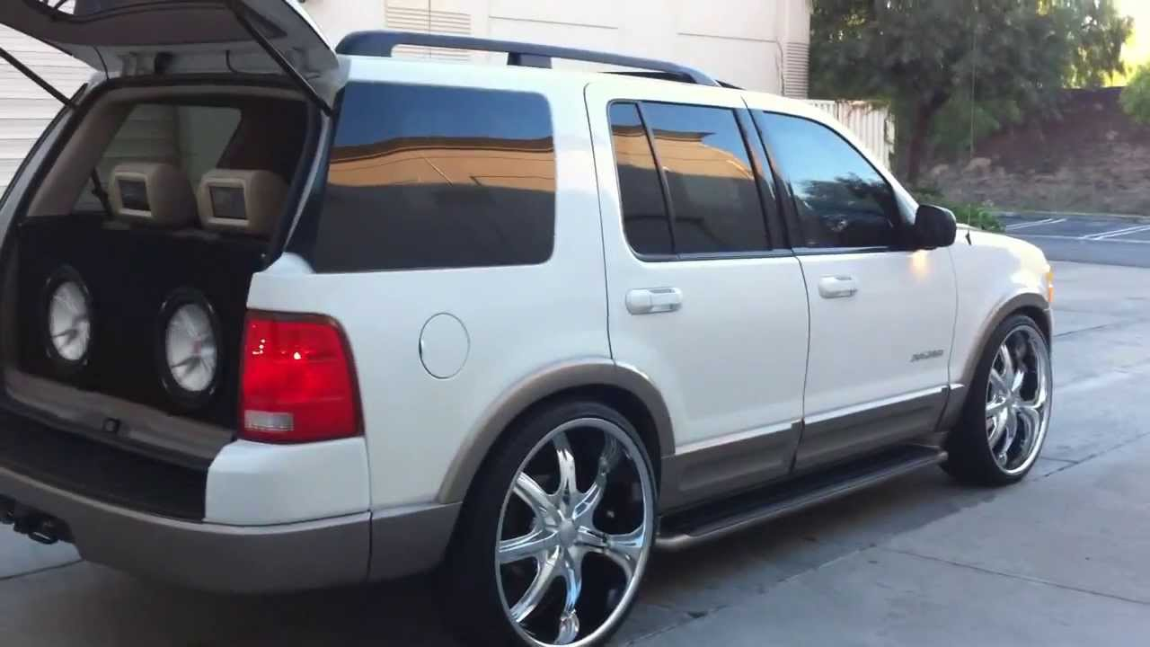 Ford Expedition El >> ford explorer on 24' customs - YouTube