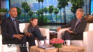 (Vietsub  Ellen Show) Obama, Ellen và chuyên gia về Tổng thống Macey Hensley